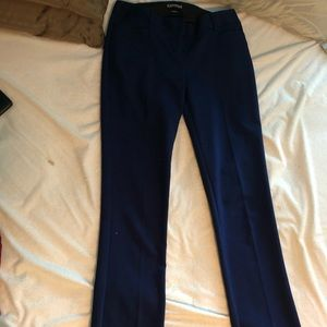 Navy business pants